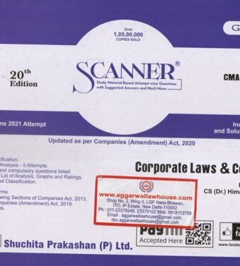 Solved Scanner CMA Final Gr III Paper 13 Corporate Laws and Compliance