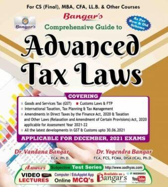 Comprehensive Guide to Indirect Tax Laws GST VANDANA BANGAR , YOGENDRA BANGAR ,