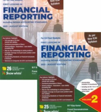 FINANCIAL REPORTING Including Indian Accounting Standards