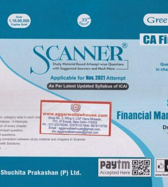Solved Scanner for CA Final GR I New Syllabus Paper 2