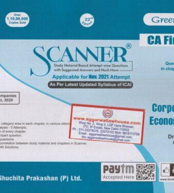 Solved Scanner for CA Final GR I New Syllabus Paper 4