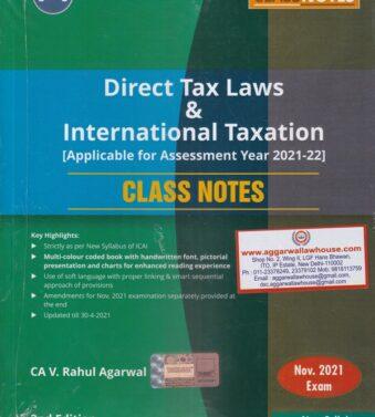 Direct Tax Laws , International Taxation , Class Notes