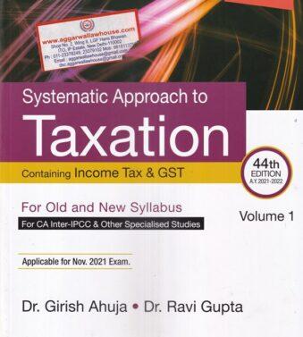 Taxation , CA Inter , Girish Ahuja , Ravi Gupta