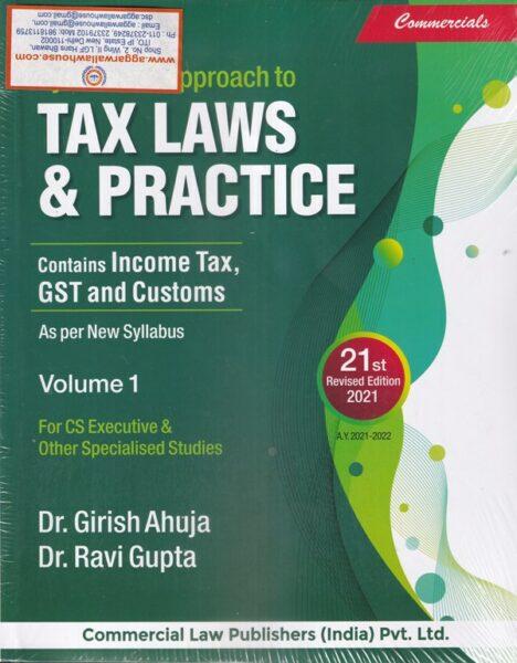 Tax Laws , New Syllabus , Girish Gupta , Ravi Gupta
