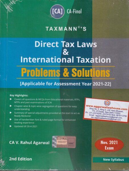 Direct Tax Laws , International Taxation , Rahul Agarwal