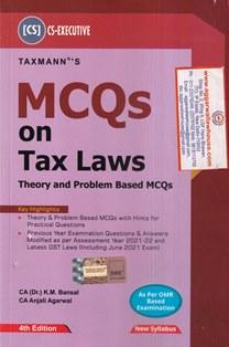 MCQs on Tax Laws Theory , Problem Based MCQs , CS Executive , New Syllabus