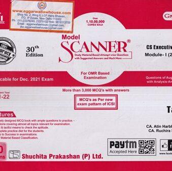 Tax Laws , Solved Scanner , Dec 2021