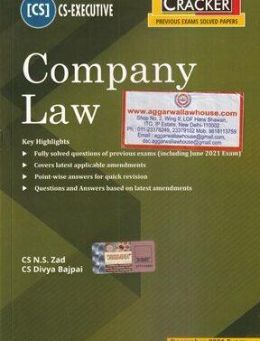 Company Law , CS Executive , Dec 2021 Exams