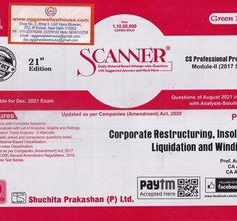 Solved Scanner CS Professional Module II Paper 5