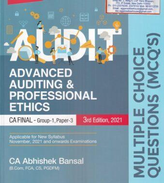 MCQ's Advanced Auditing