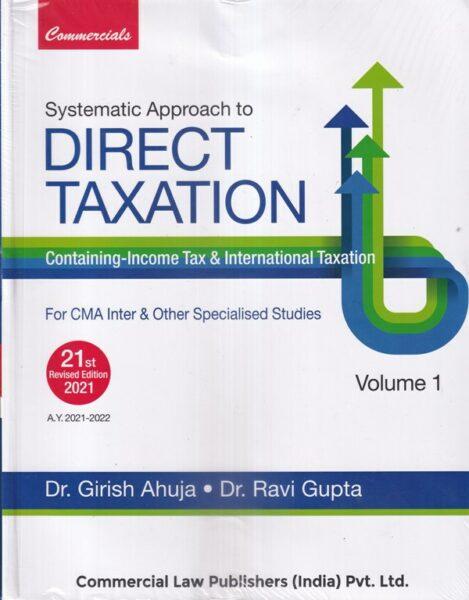 Direct Taxation Containing - Income Tax & International Taxation