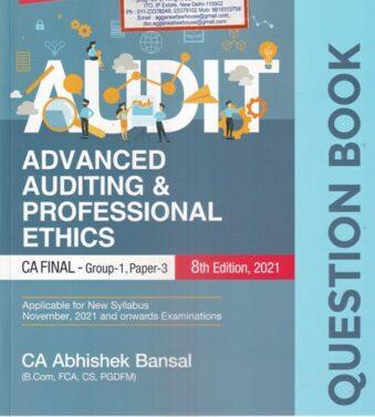 Advanced Auditing , Professional Ethics CA FINAL