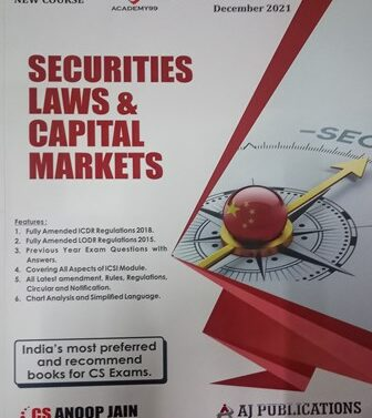 Securities Laws , Capital Markets