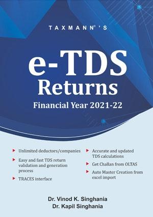 Taxmann eTDS 2021-22