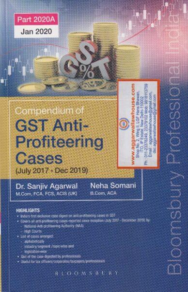GST Anti-Profiteering Cases (July 2017 - Dec 2019)