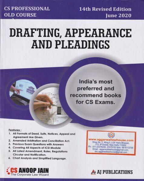 Pleadings for CS Professional
