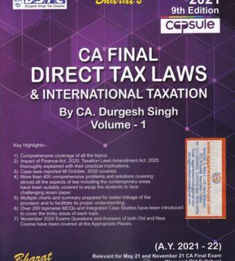 CA Final Direct Tax Laws , international Taxation , durgesh Singh