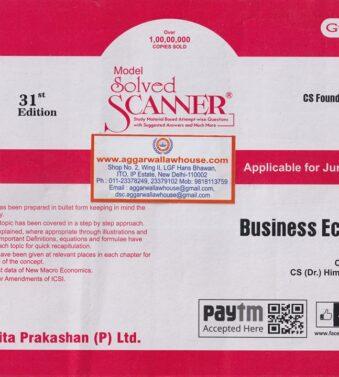 Solved Scanner CS Foundation , paper 3