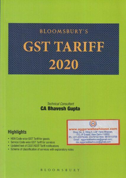 GST Tariff 2020 By BHAVESH GUPTA