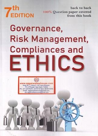 Governance Risk Management, Compliances & Ethics CS Professional For CS Professional New Syllabus by Ankush Bansal