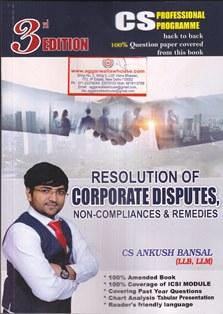 Resolution of Corporate Disputes , Ankush Bansal
