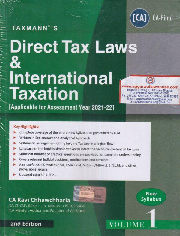 Direct Taxes and International Taxation for CA Final , RAVI CHHAWCHHARIA