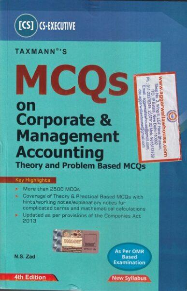 Corporate , Management Accounting , CS Executive
