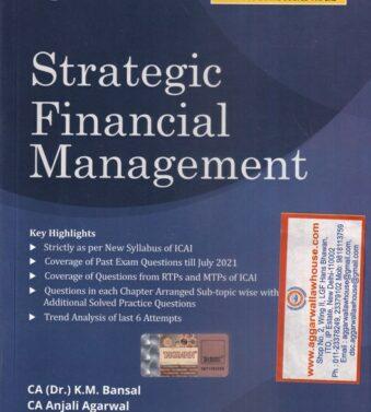 Strategic Financial Management New Syllabus for CA Final