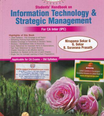 Handbook on Information Technology And Strategic Management , CA Inter Ipc Old Syllabus