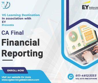 VG Learning Destination CA Final Financial Reporting Paper , Vinod gupta