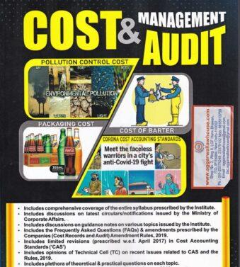 Cost & Management Audit Paper 19 Set of 2 Vol For CMA Final