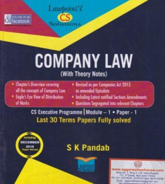 Company Law , CS Executive