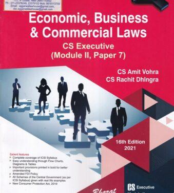 CS Executive , Commercial Laws