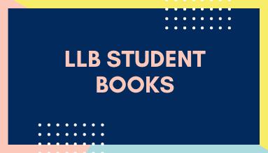 LLB Student Books